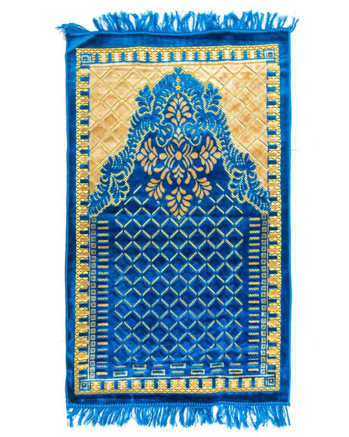 Buy Janamaz - Ferozi Velvet Janamaz F101 - Export Quality Online in Karachi, Lahore, Islamabad, Pakistan, Rs.600.00, Janamaz Online Shopping in Pakistan, Noor Fabrics, Home Decor, Islamic, Janamaz, Lifestyle, Prayer Mats, Prayer Rugs, diKHAWA Online Shopping in Pakistan