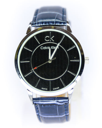 CK-Calvin Klein Men Watch – CK-Calvin Klein Watch Blue Belt With Black Dial