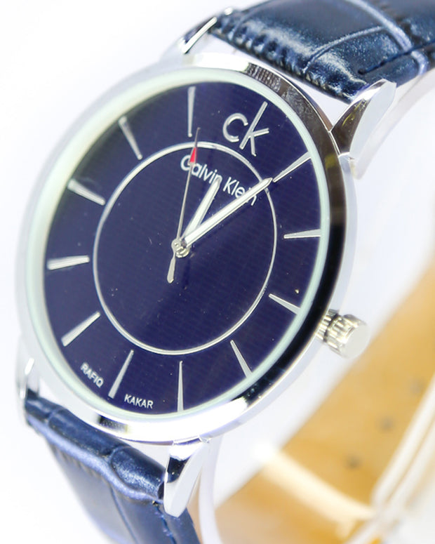 Mens Watches Online Shopping in Pakistan. For Rs. Rs.499.00, ID - DK300930, Brand = Ck - Calvin Klein, CK-Calvin Klein Men Watch – CK-Calvin Klein Watch Blue Belt With Black Dial in Karachi, Lahore, Islamabad, Pakistan, Online Shopping in Pakistan, Accessories, Belt Watches, cf-type-mens-watches, cf-vendor-ck-calvin-klein, Men, Round Dial Watches, Watches, diKHAWA Fashion - 2020 Online Shopping in Pakistan