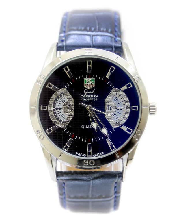 Mens Watches Online Shopping in Pakistan. For Rs. Rs.1199.00, ID - DK301169, Brand = Tag Heuer, Tag Heuer Men Watch – Tag Heuer Watch Blue Belt With Silver Dial in Karachi, Lahore, Islamabad, Pakistan, Online Shopping in Pakistan, 2nd Copy, Accessories, Belt Watches, Brand_Tag Heuer, Collection_Replica, Condition_2nd Copy, Content_Family, Gender_Men, Men, Round Dial Watches, Style_Belt Watches, Style_Round Dial Watches, Type_Accessories, Type_Men, Type_Watches, Watches, diKHAWA Fashion - 2020 Online Shopping in Pakistan