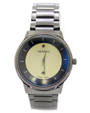 Movado Men Watch – Movado Watch Black Chain With Black Dial