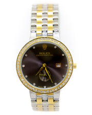 Mens Watches Online Shopping in Pakistan. For Rs. Rs.1399.00, ID - DK301215, Brand = Rolex, Rolex Men Watch – Men Oyster Perpetual Silver & Golden Chain Watch With Black Dial in Karachi, Lahore, Islamabad, Pakistan, Online Shopping in Pakistan, 2nd Copy, Accessories, Brand_Rolex, Chain Belt, Collection_Replica, Condition_2nd Copy, Content_Family, Gender_Men, Men, Round Dial Watches, Style_Chain Belt Watches, Style_Round Dial Watches, Type_Accessories, Type_Men, Type_Watches, Watches, diKHAWA Fashion - 2020 Online Shopping in Pakistan