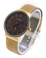 Police Men Watch – Police Watch Brown Belt With Black Dial