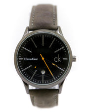Ck - Calvin Klein Men Watch – Ck Watch Black Belt With Black Dial