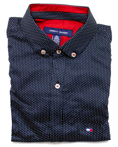 Tommy Hilfiger Men Casual Dress Shirts 3302