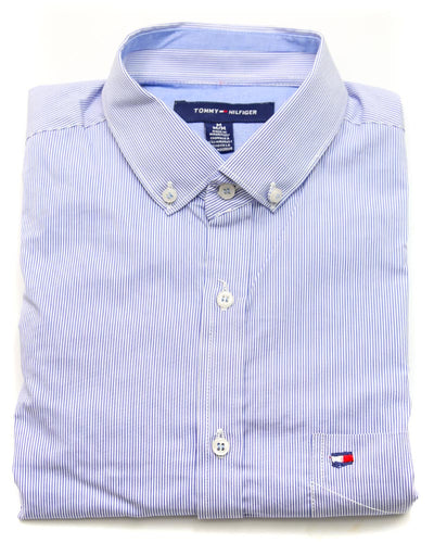 Tommy Hilfiger Men Casual Dress Shirts 3304