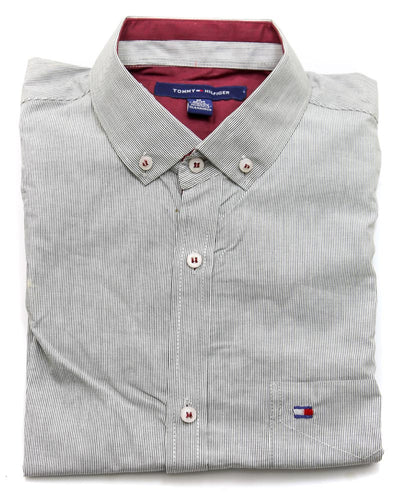 Tommy Hilfiger Men Casual Dress Shirts 3305