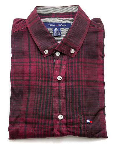 Tommy Hilfiger Men Casual Dress Shirts 3307
