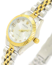 Ladies Watches Online Shopping in Pakistan. For Rs. Rs.1199.00, ID - DK300911, Brand = Rolex, Rolex Ladies Watch – Golden & Silver Chain With Silver Dial in Karachi, Lahore, Islamabad, Pakistan, Online Shopping in Pakistan, Accessories, Brand_Rolex, Chain Belt, Collection_Replica, Condition_2nd Copy, Content_Family, Gender_Women, Round Dial Watches, Style_Chain Belt Watches, Style_Round Dial Watches, Type_Accessories, Type_Watches, Type_Women, Watches, Women, diKHAWA Fashion - 2020 Online Shopping in Pakistan