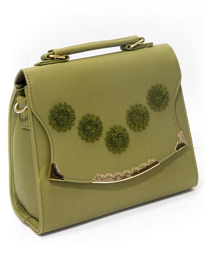 Women's Stylish Handbags FB-3010 Green - Shoulder Bags