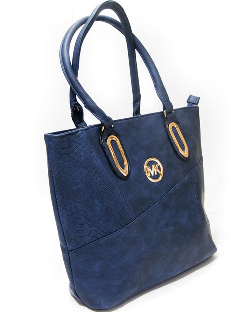 MK Blue Ladies Handbags - Branded Shoulder Bags By Micheal Kors
