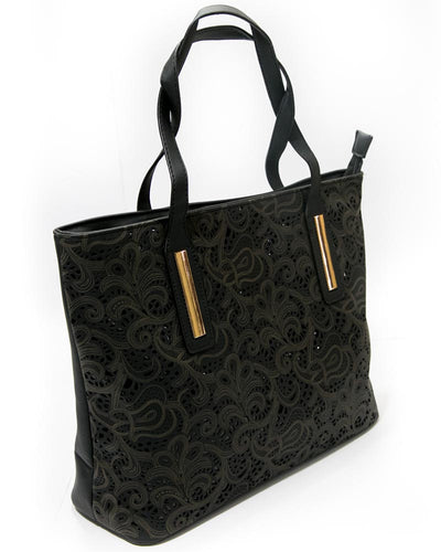 Ladies Black Handbags FB-3019 - Stylish Shoulder Bags