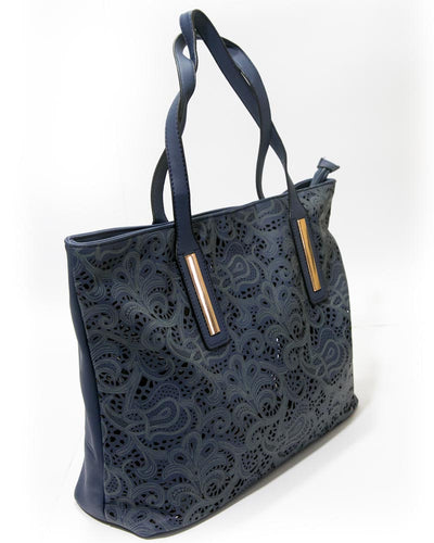 Ladies Dark Blue Handbags FB-3022 - Stylish Shoulder Bags