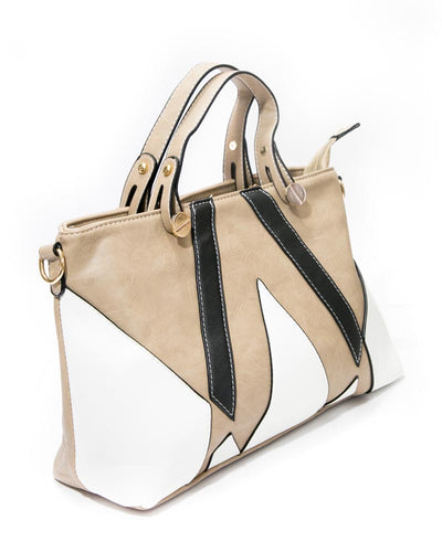 White & Skin Ladies Handbags FB-3024 - Stylish Shoulder Bags