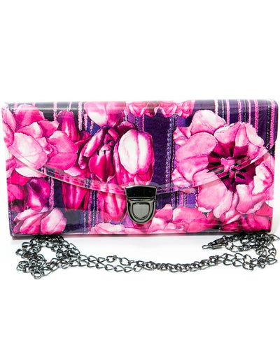 Fancy Pink Flower Hand Purse FB-3028 – Exclusive Purse Collection