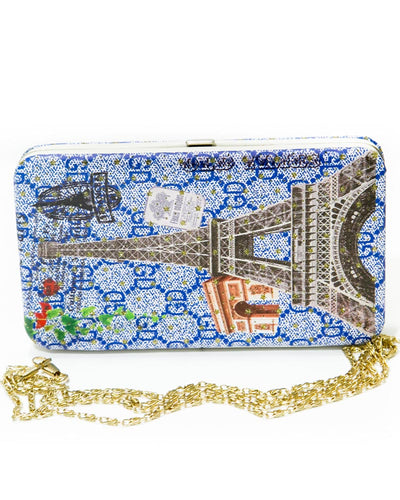 Fancy Hand Purse For Ladies FB-3046 – LOVE EIFFEL TOWER