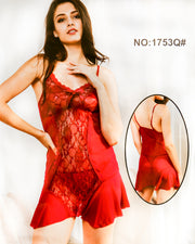 Romantic Short Nighty For Women - 1753Q#