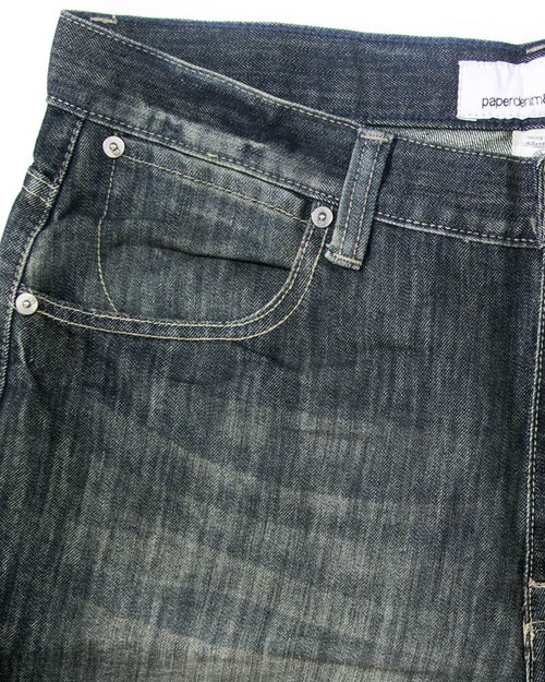 Paper Denim Branded Black Jeans For Men - JD1029 Slim Fit Jeans for Men