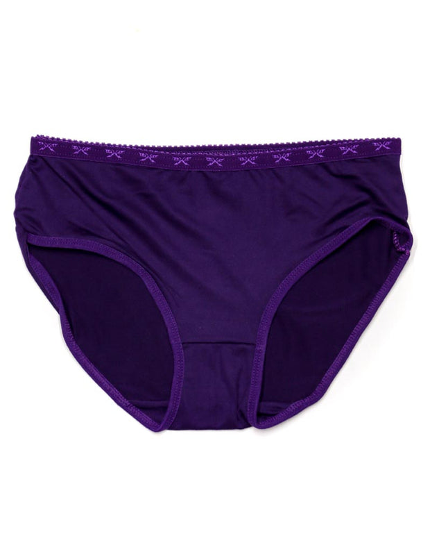 Pack of 3 Basic Soft Cotton Panty AN-336 - Mix Colors