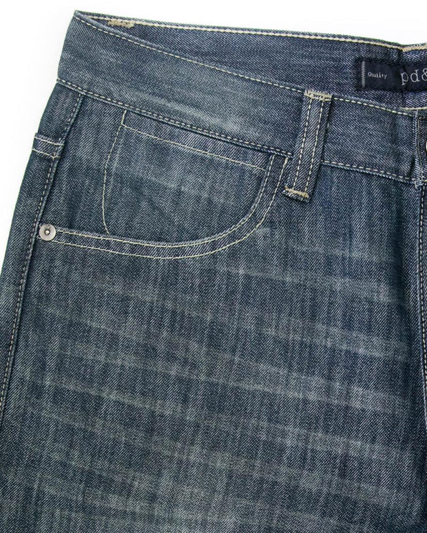Paper Denim Branded Blue Jeans For Men - JD1032 Slim Fit Jeans for Men