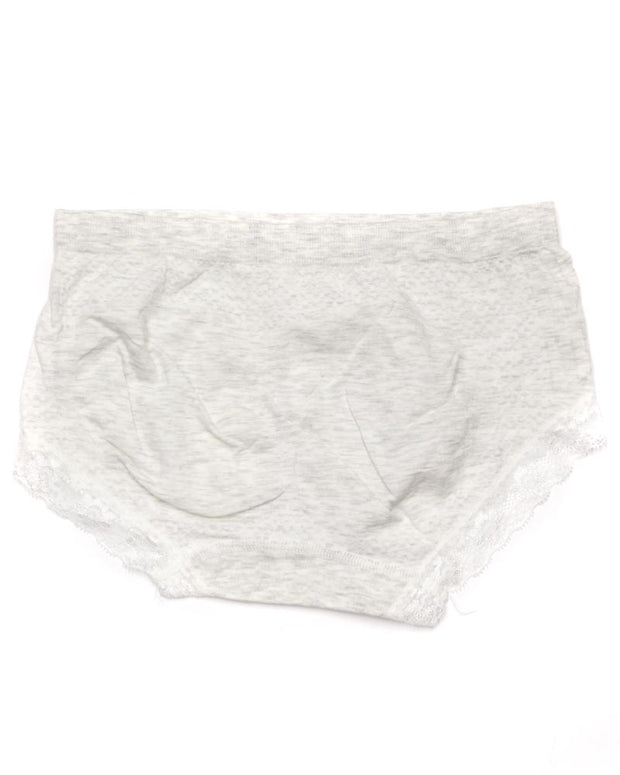 Pack of 2 Basic Soft Cotton Stretchable Lace Panty FP-657 - Mix Colors