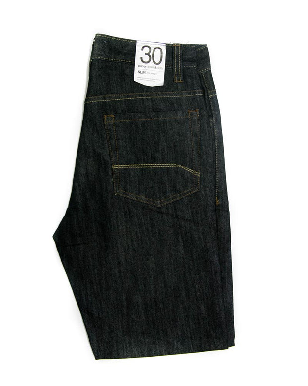 Paper Denim Branded Black Jeans For Men - JD1048 Slim Fit Jeans for Men