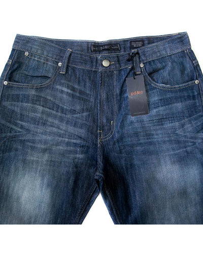 Paper Denim Branded Blue Jeans For Men - JD1047 Slim Fit Jeans for Men