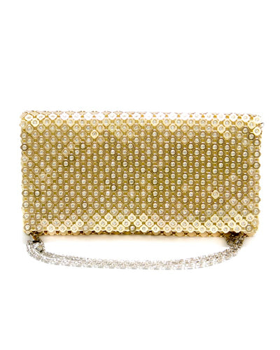 Fancy Golden Hand Purse For Ladies Fashion Boutique HP1051
