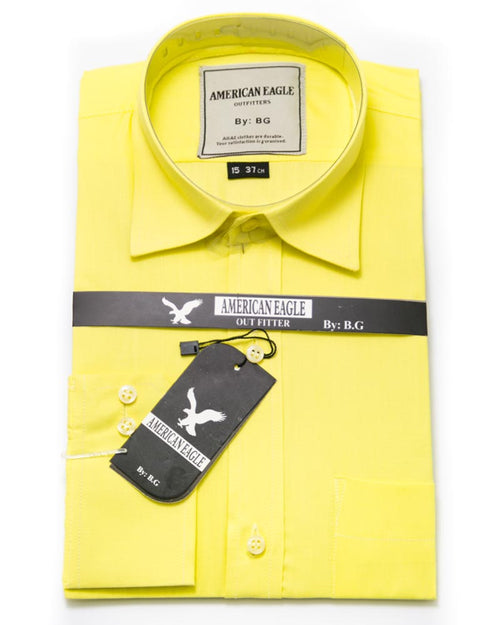 American Eagle Mens Dress Shirt - Formal Shirts, Office Shirts, Plain Shirts