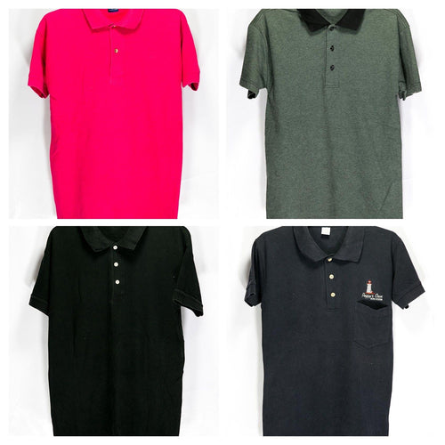 Pack of 4 Mens T-shirts Deal # MT508 - Export Stock Lot