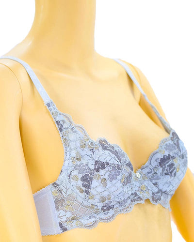 Bridal Embroidered Bra - Soft Padded Underwired Bra