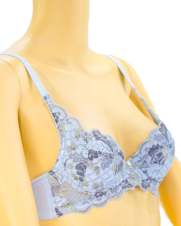 Bridal Embroidered Bra - Soft Padded Underwired Bra - Taiwan Bra - 2025
