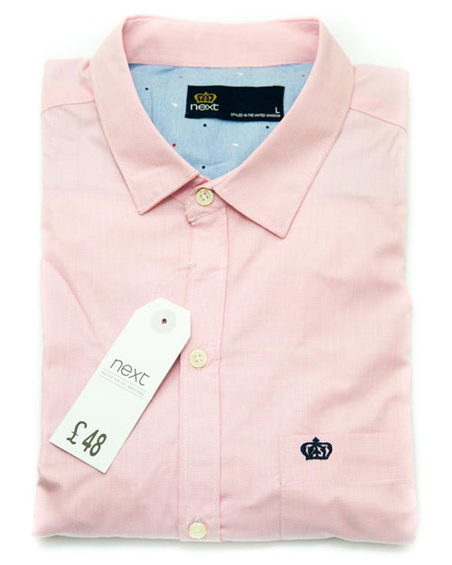 Buy NEXT Men's Casual Dress Shirts & Party Shirts Online in Karachi, Lahore, Islamabad, Pakistan, Rs.999.00, Mens Shirts Online Shopping in Pakistan, Next, Body Fit Shirts, Branded, Branded Shirts, Casual Shirts, cf-size-large, cf-size-medium, cf-type-mens-shirts, cf-vendor-next, Classic Collar Shirts, Clothing, Dress Shirts, Eid Collection Shirts, Export Stocklot, Full Sleeves Shirts, Men, Party Shirts, Plain Shirts, Polo Cotton Shirts, Shirts, Slim Fit Shirts, Spring Shirts, Standard Collar Shirts, Summer Shirts, diKHAWA Online Shopping in Pakistan
