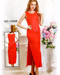 Summer Net Nighty 1906 - Long Nighty Dress - Nighty - diKHAWA Online Shopping in Pakistan