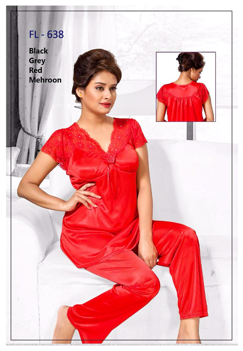 Stylish FL-638 - Flourish Exclusive Bridal Nighty Set Collection