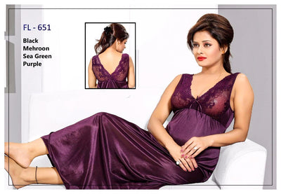 Stylish FL-651 - Flourish Exclusive Bridal Nighty Set Collection