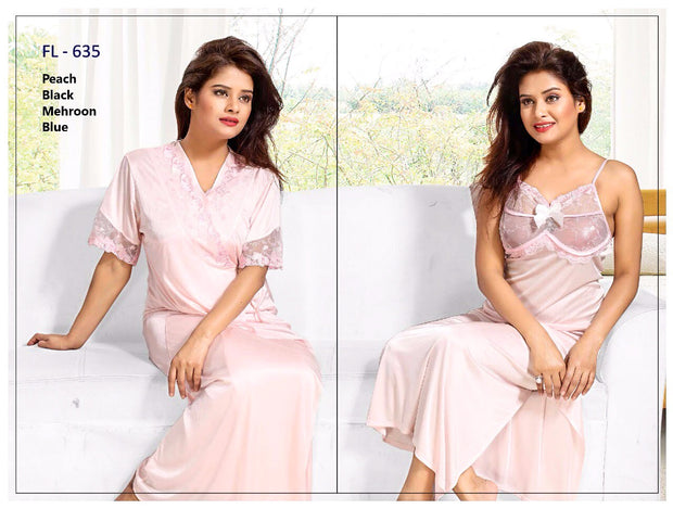 Ladies Nighty Sets Online Shopping in Pakistan. For Rs. Rs.2099.00, ID - NN202133-B-M, Brand = Flourish, Stylish FL-635 - Flourish Exclusive Bridal Nighty Set Collection in Karachi, Lahore, Islamabad, Pakistan, Online Shopping in Pakistan, Brand_Flourish, Clothing, Colour_Black, Colour_Firozi, Colour_Maroon, Colour_Peach, Fancy Nighty, Fashion, Flourish, Honeymoon Nighty, Lace Nighty, Lingerie & Nightwear, Nightwear, Nighty Set, Nighty Sets, Size_Large, Size_Medium, Style_Fancy Nighty, Style_Honeymoon Nighty, Style_Lace Nighty, Style_Nighty Sets, Style_Sexy, Style_Wedding Nighty, Type_Clothing, Type_Lingerie & Nightwear, Type_Nightwear, Type_Nighty Sets, Type_Women, Wedding Nighty, Women, diKHAWA Fashion - 2020 Online Shopping in Pakistan