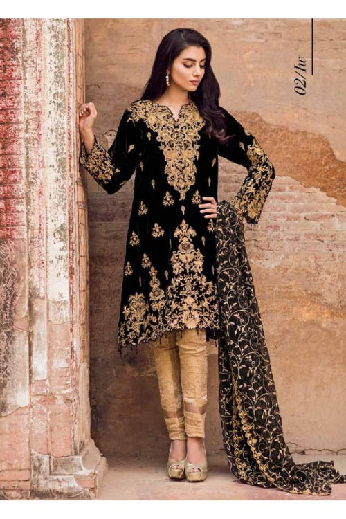 Iznik Velvet Embroidered Suit
