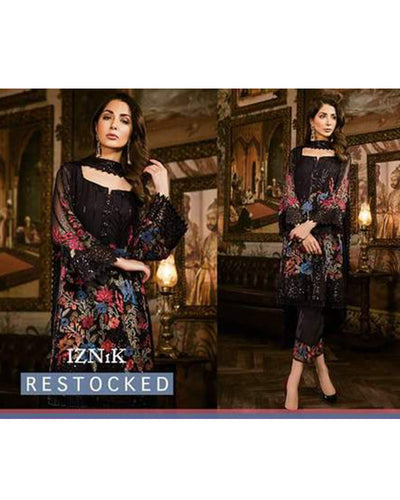 Iznik Chiffon Eid collection 2018(Replica)(Unstitched)