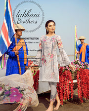 Iznik Swiss Lawn Digital Collection (Replica)(Unstitched)