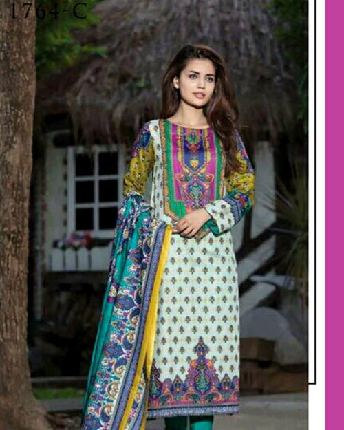 Buy Jhalak Lawn Suits 3 Piece - 1764-C (Original) (Unstitched) Online in Karachi, Lahore, Islamabad, Pakistan, Rs.{{amount_no_decimals}}, Ladies Lawn Suits Online Shopping in Pakistan, Jhalak Lawn, 3PC Unstitched Suits, Brand = Ittehad, cf-color-green, cf-size-unstitched, cf-type-ladies-lawn-suits, cf-vendor-jhalak-lawn, Clothing, Collection = Jhalak Lawn, Dupatta = Printed Lawn, Jhalak Lawn by Ittehad, Lawn Suits, Material = Lawn, Original Lawn Suits, Original Suits, Printed Lawn Suits, Printed Suits, Size = Unstitched, Style = Printed, Unstitched Suits, Women, Womens Pakistani Clothing, Online Shopping in Pakistan - diKHAWA Fashion