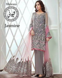 Jasmine By Baroque Lawn Collection - (Replica)(Unstitched)