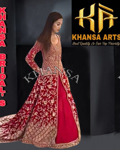 KHANSA BRIDAL'S COLLECTION - KHNSA BRIDAL (Replica)(Unstitched)