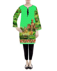 INDEPENDENCE DAY KURTI (Replica)(Unstitched)