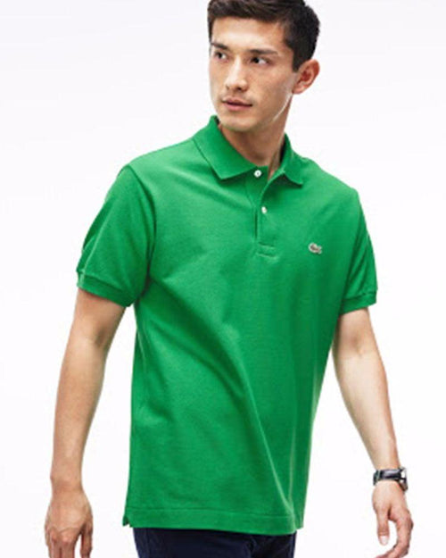 Lacoste Mens Polo T-Shirt - Green - Polo T-Shirts - diKHAWA Online Shopping in Pakistan