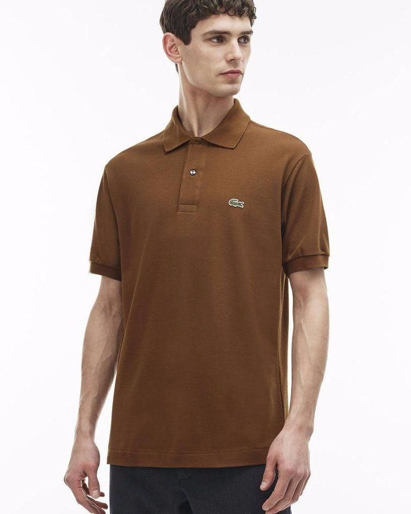 Copy of Lacoste Mens Polo T-Shirt - Browm - Polo T-Shirts - diKHAWA Online Shopping in Pakistan