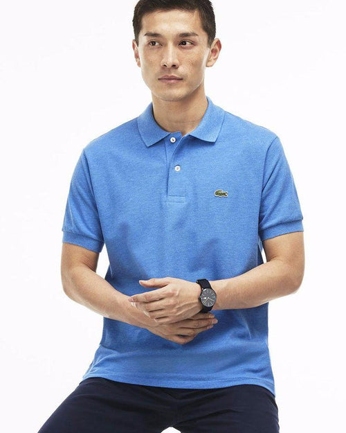 Lacoste Mens Polo T-Shirt - Sky Blue - Polo T-Shirts - diKHAWA Online Shopping in Pakistan