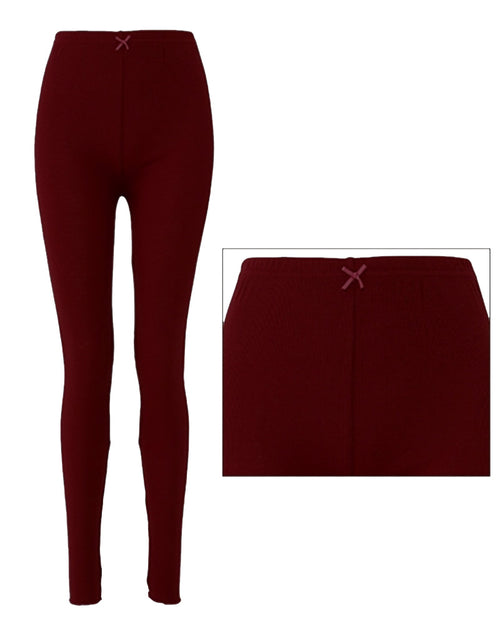 Sexy Maroon Tights & Stretchable Leggings for Ladies - TM1002