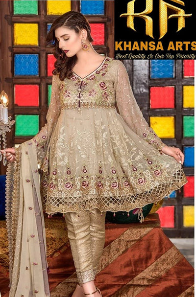 MARYAM'S CHIFFON COLLECTION - MM-1011 (Replica)(Unstitched)