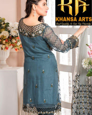 MARYAM'S CHIFFON COLLECTION A/11 (Replica)(Unstitched)